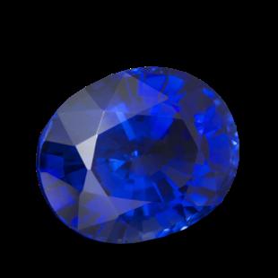 Камень сапфир натуральный овал