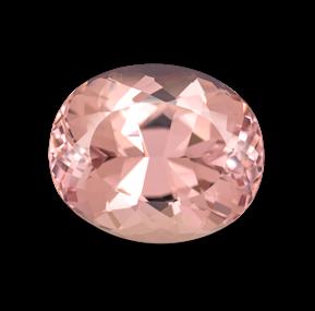 Камень морганит натуральный