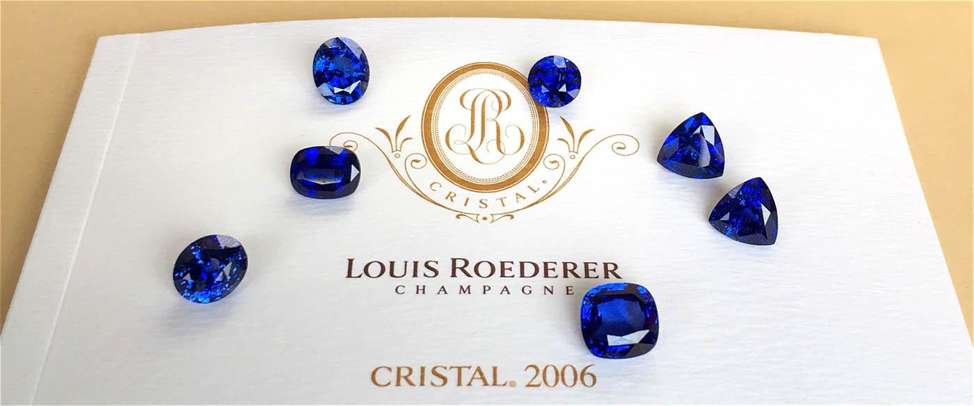 Синие драгоценные камни