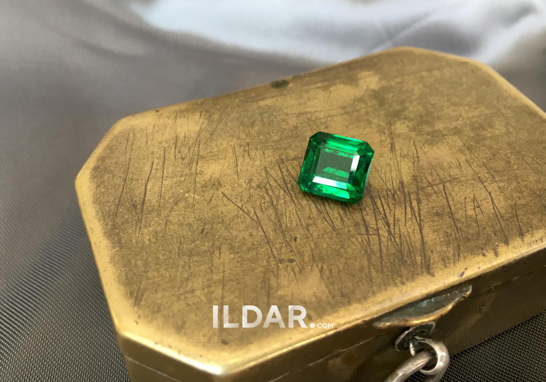 Wonderful emerald from Zambia 2.92 ct фотография