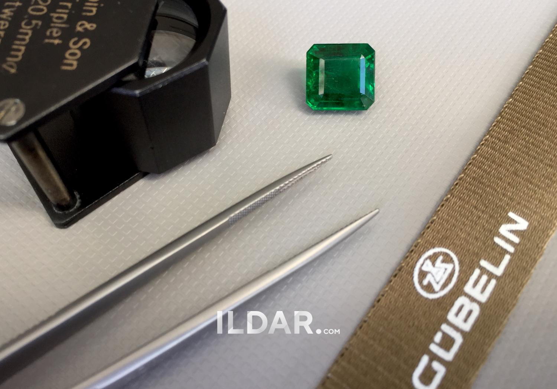 Classic Zambian emerald 7.63 ct смотреть