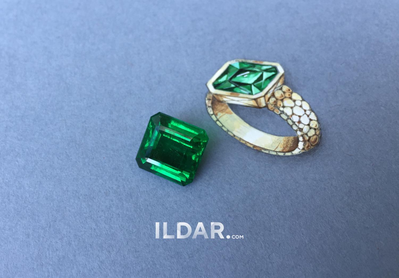Classic Zambian emerald 7.63 ct