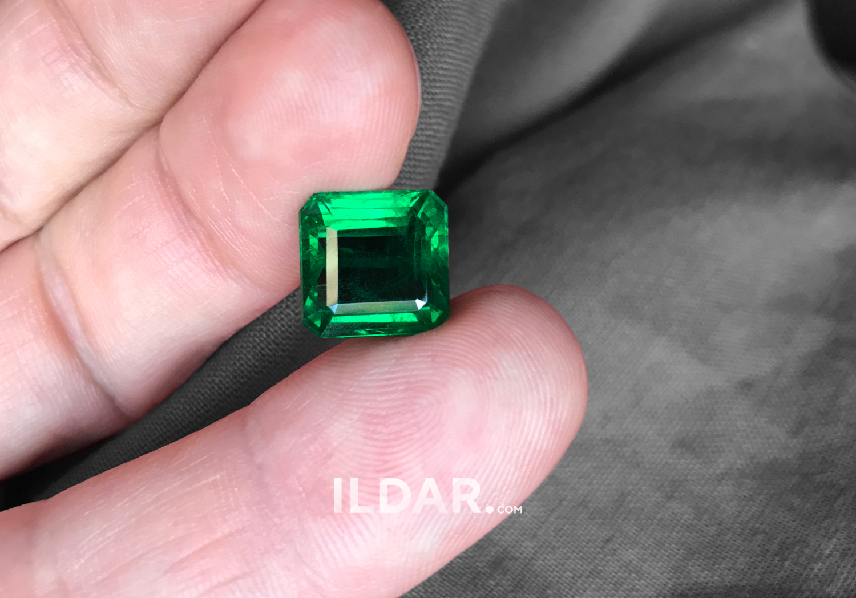 Classic Zambian emerald 7.63 ct фото