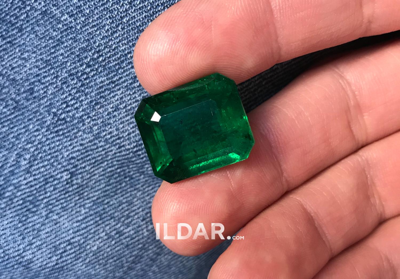 Amazing large emerald 34.71 ct