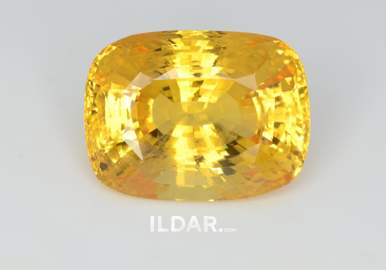 Collection yellow sapphire 101.24 ct фотография